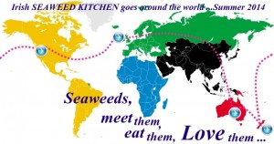 Around the World with IRISH SEAWEED KITCHEN summer 2014