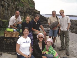 BBC filming of cooking with seaweeds