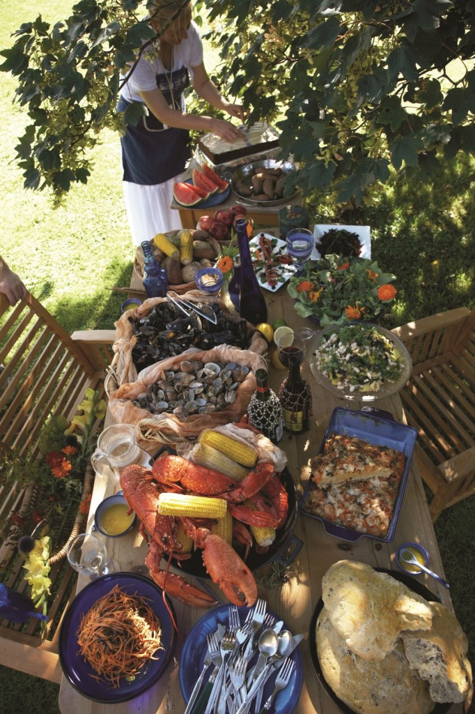 Summer clambake to enjoy with family and friends