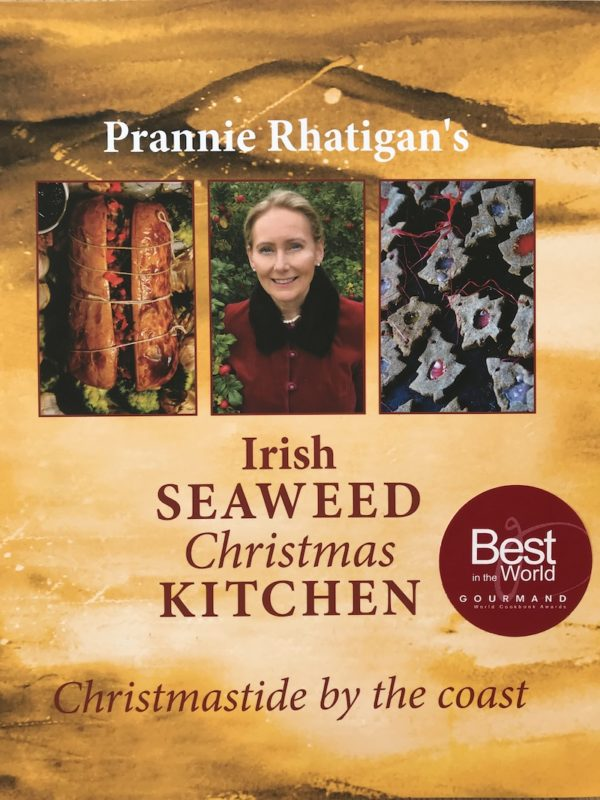 "Cover of ""Irish Seaweed Christmas Kitchen"" with 'Best In The World' Gourmand sticker"